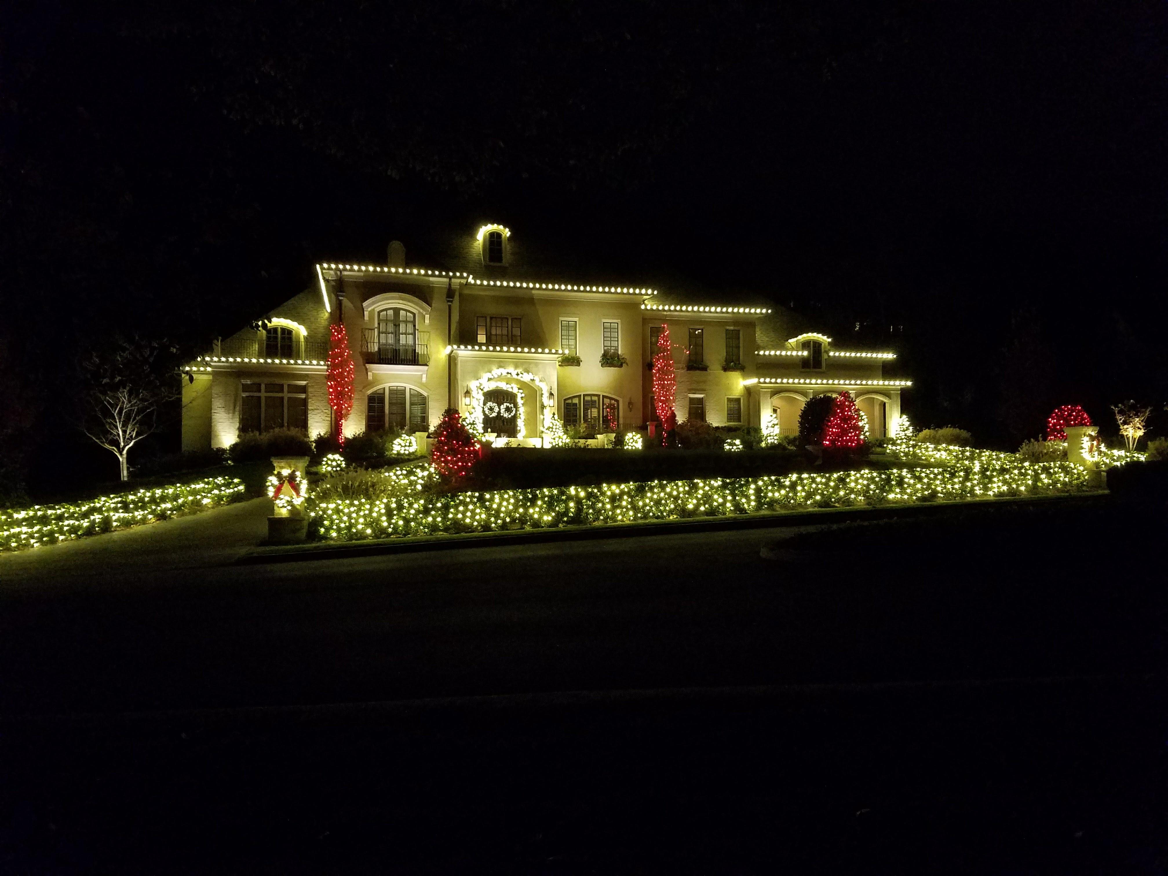 Outdoor Lighting Chattanooga Holiday
